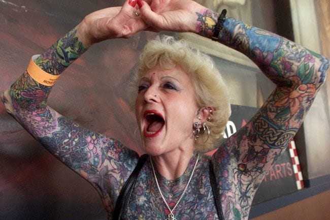 How I'll feel about my tattoos years from now.