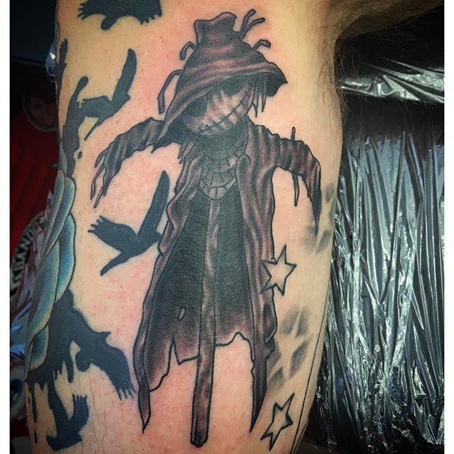 Scarecrow Tattoo by Steff Lapsley