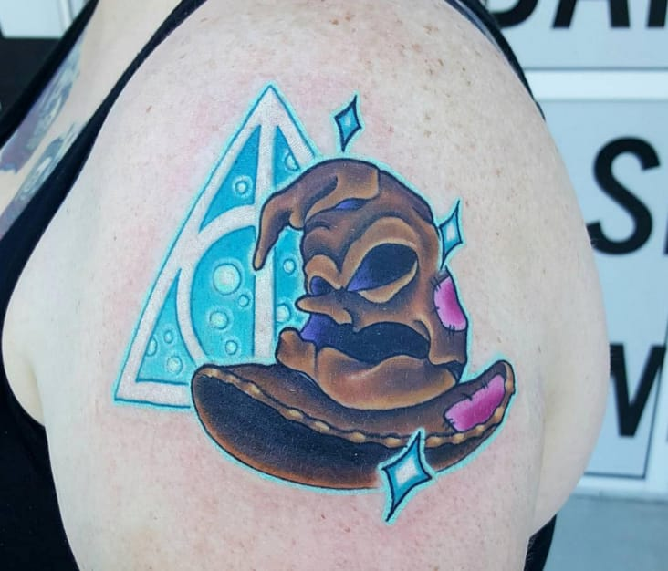 10 Mysterious Harry Potter Tattoos