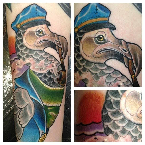 Dodo Tattoo by Amy Savage