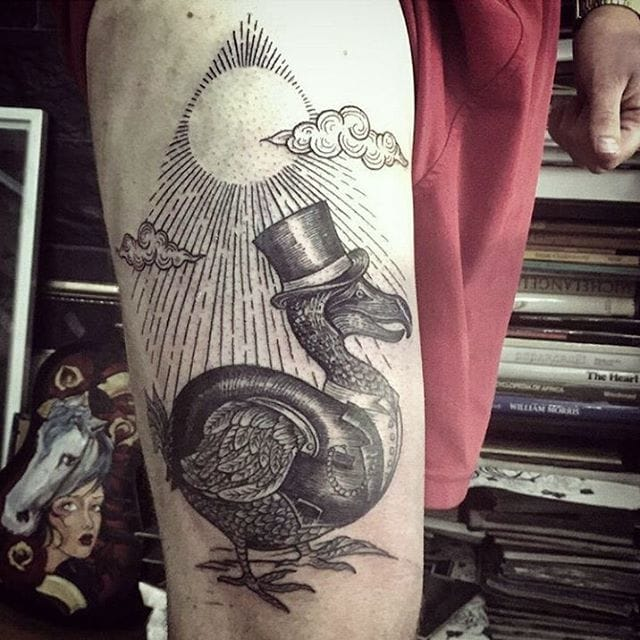 Dodo Tattoo by Manuel Gray