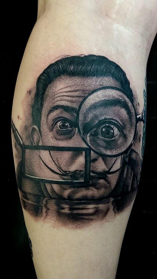Salvador Dali, daqui e de todo lugar!