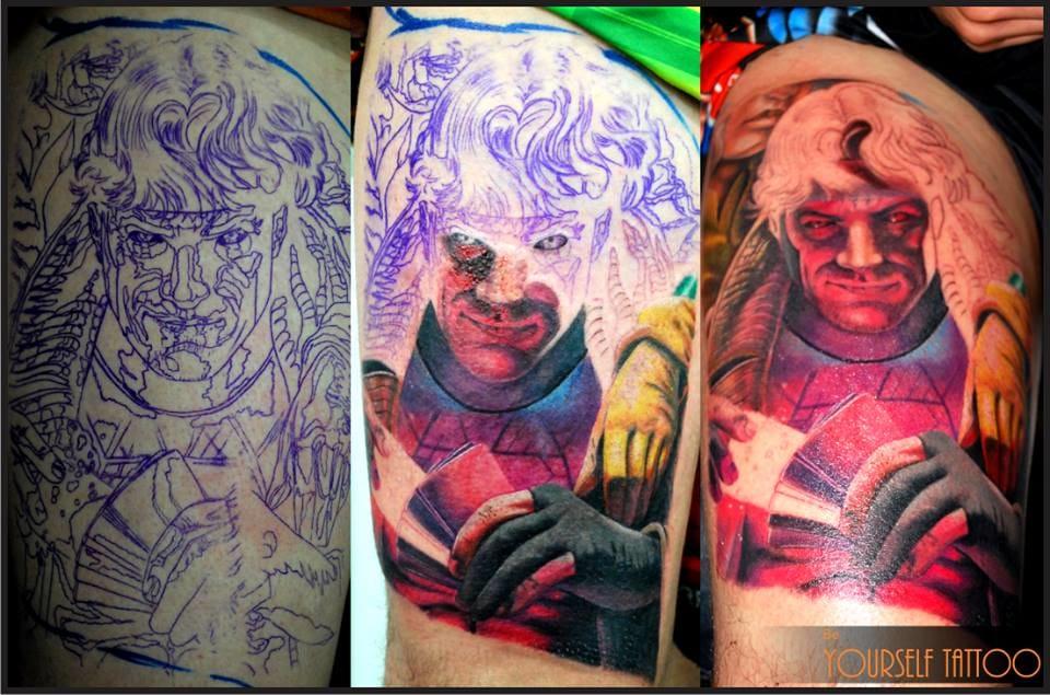 Passo a passo de uma tatuagem