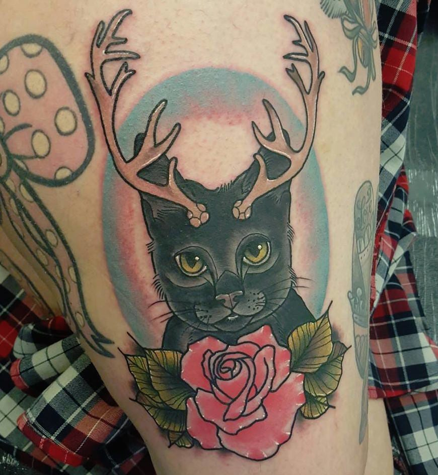 Impeccable Beauty: The Tattoos Of Paula Castle