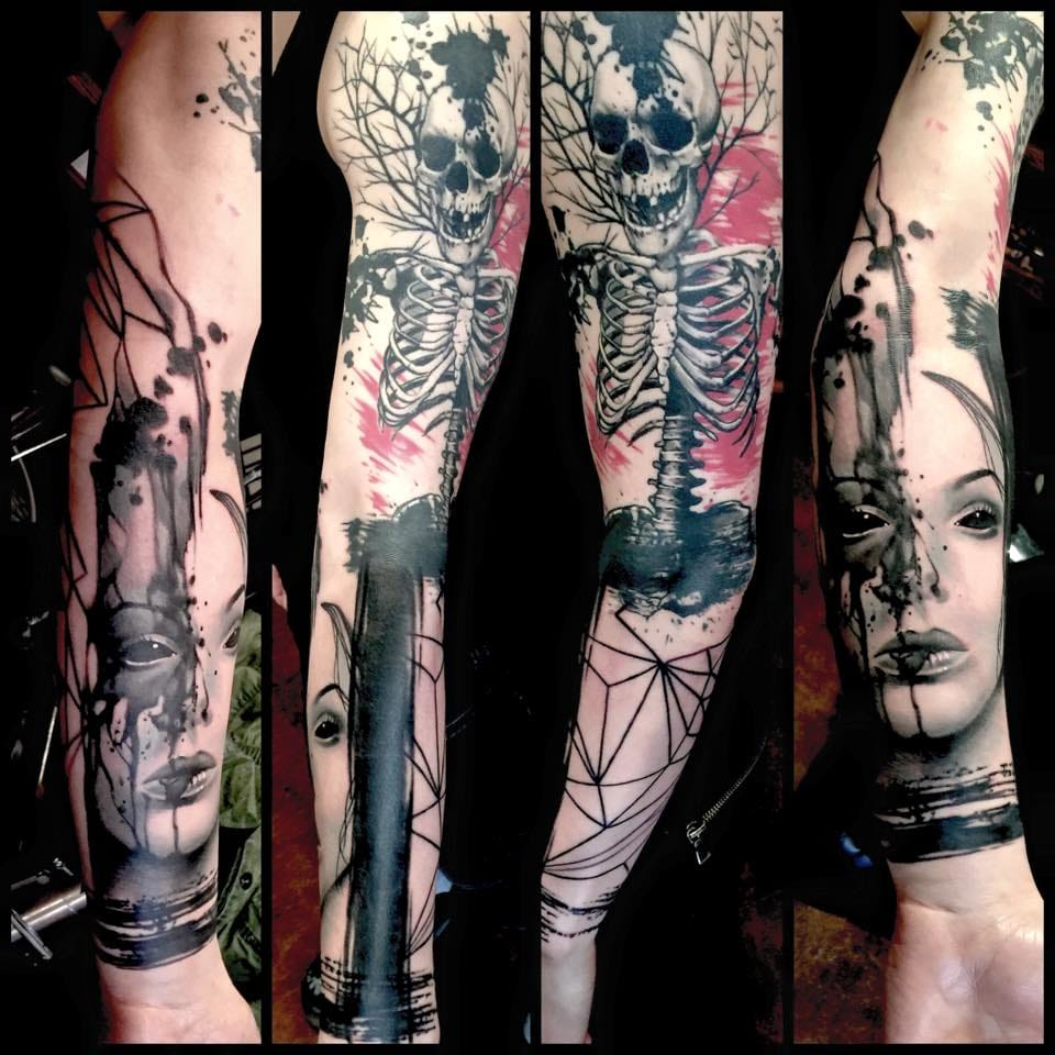 The Moody And Mystical Tattoos Of Jacob Pedersen