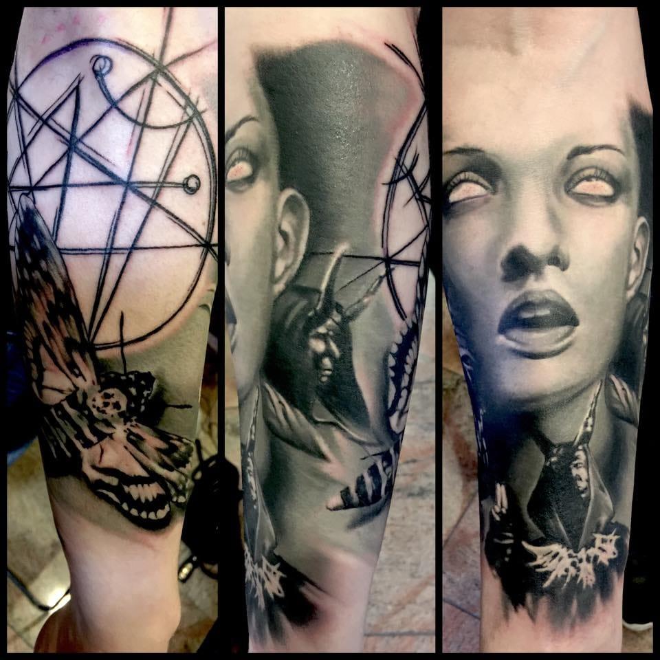 Tattoo by Jacob Pedersen.