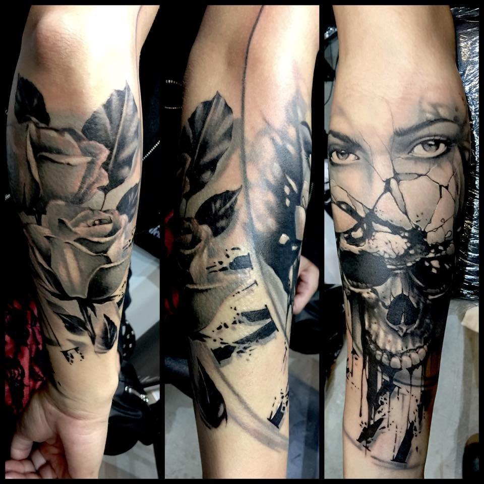 Unbelievable realism tattoo