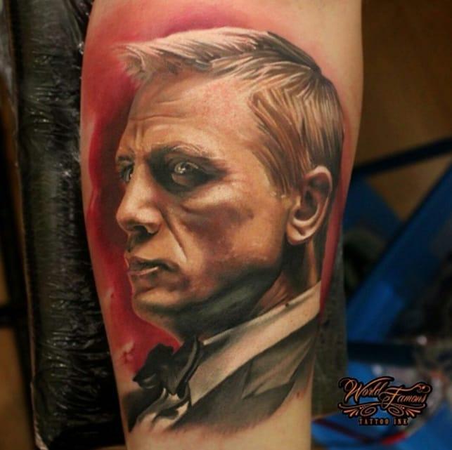 Shaken, Not Stirred: Epic 007 James Bond Tattoos