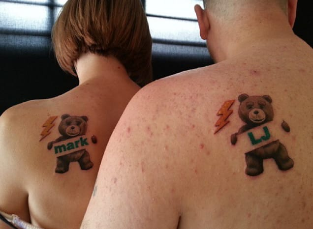 Matching Teds! By Adam James, Maidstone, UK.