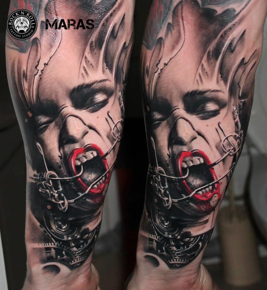 O Realismo De Marek Maras Em 15 Estonteantes Tatuagens