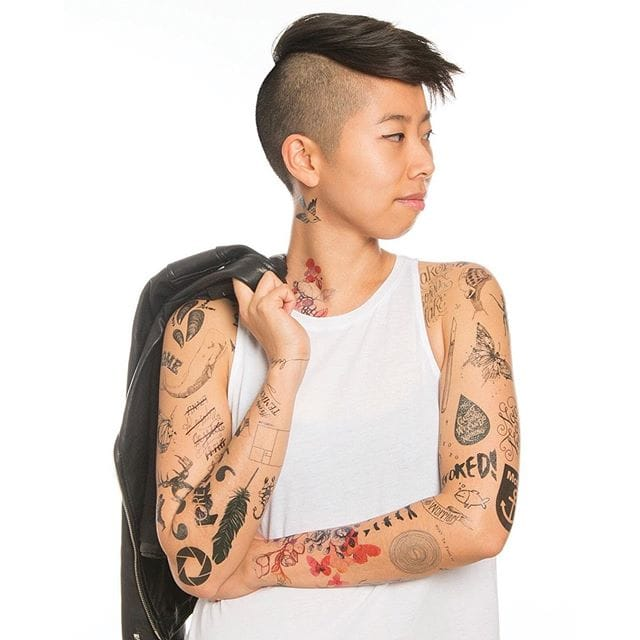 Tattly has packs of tattoos for all types of personalities.