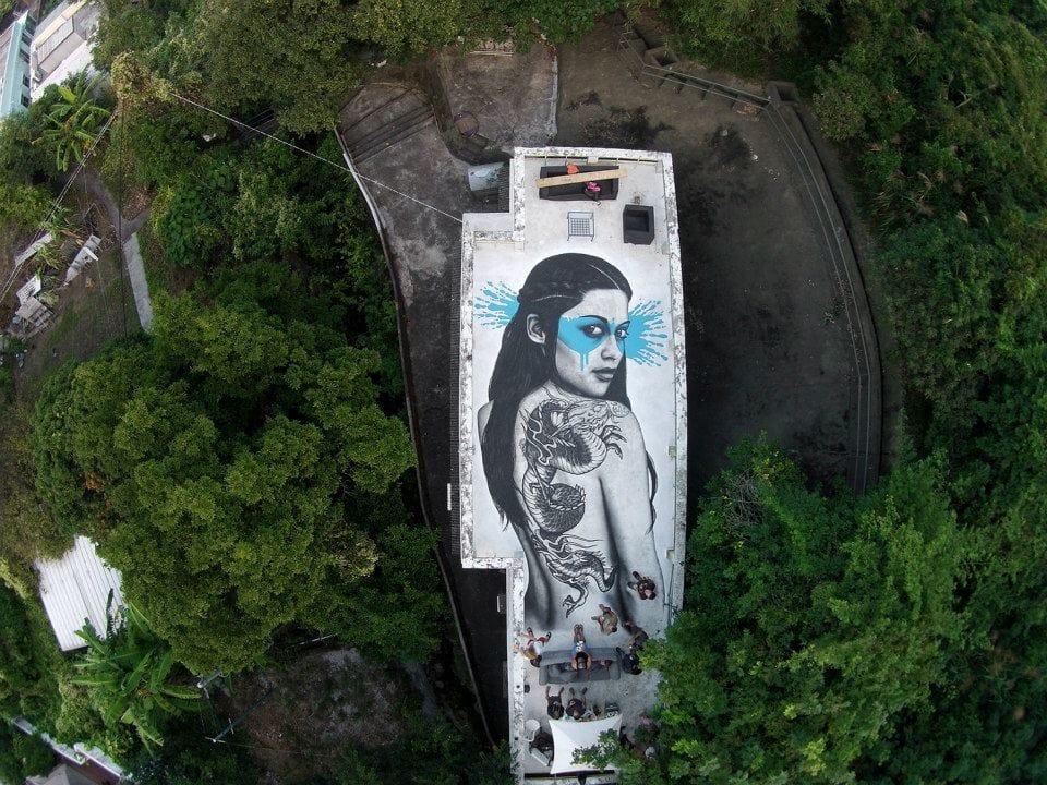 The Tattooed Street Art Of Fin Dac