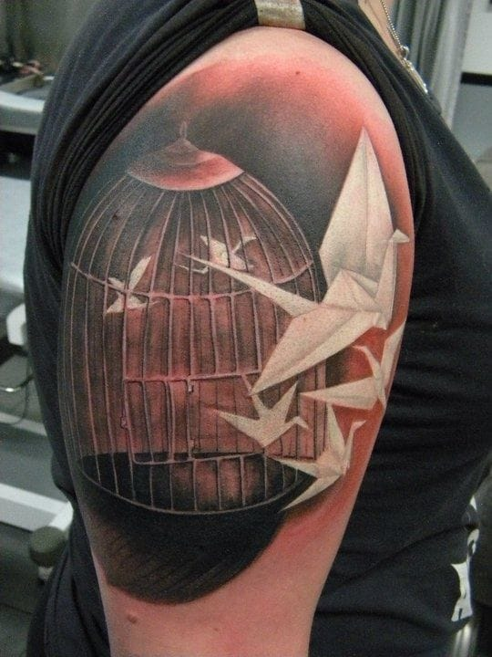 Gorgeous realistic tattoo by Jartsa!