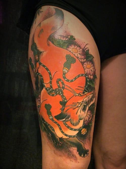 Tattoo by Alix Ge