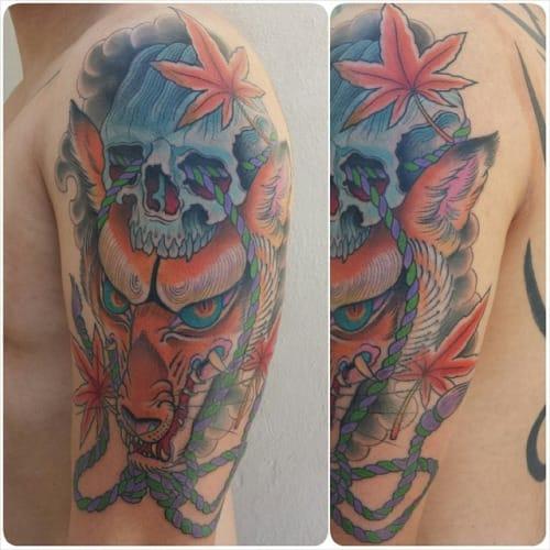 Tattoo by Chong Tramontana