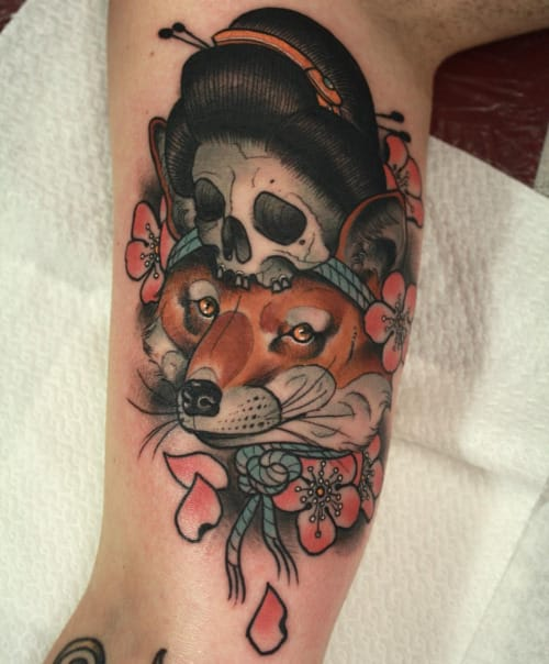 Tattoo by Toby Gawler