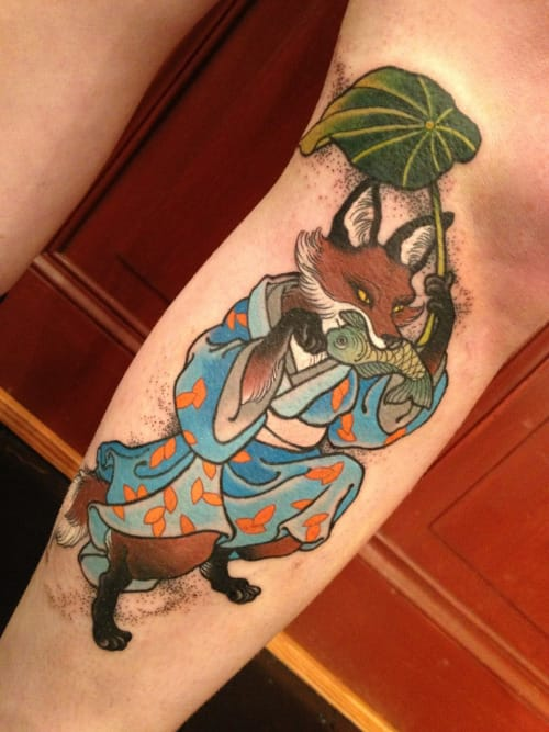 Tattoo by Wendy Pham