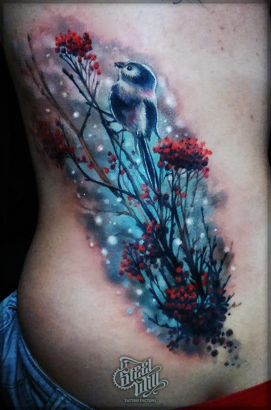 Maravilhosa tatuagem colorida!