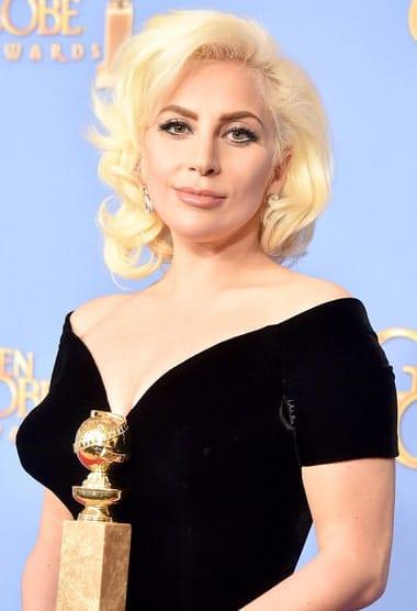 Lady Gaga at the 2015 Golden Globe Awards