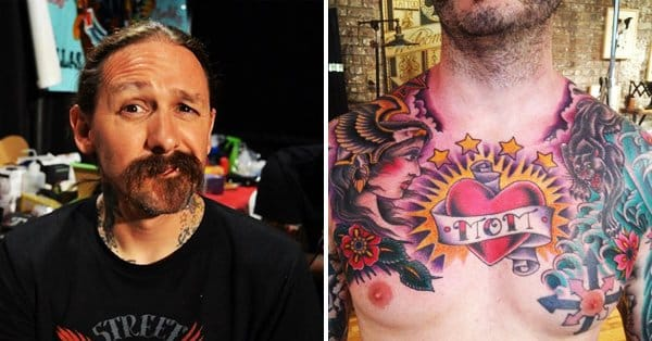 oliver peck master of the traditional tattoo tattoodo