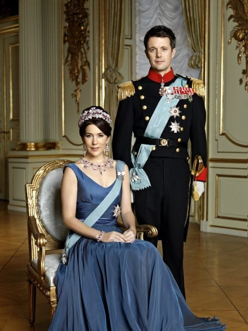 Crown Prince Frederik of Denmark with his stunning wife Princess Mary