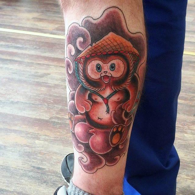 Tanuki Tattoo by Daniel Lambio