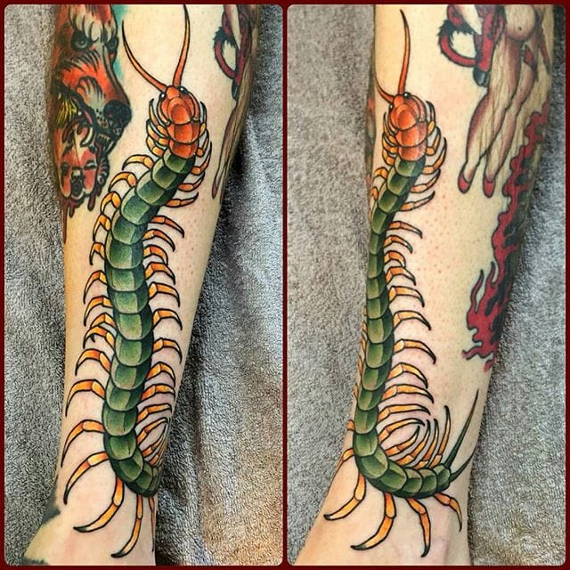 Tattoo by Matt Cunnington