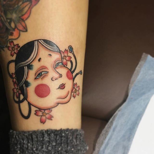 Okame Tattoo, artist unknown