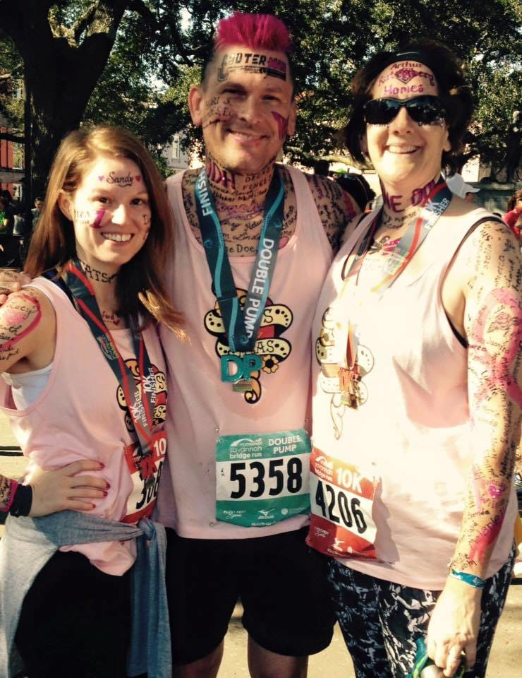 Radio Host Tim Leary Gets Inked Up For Cancer Charity Run