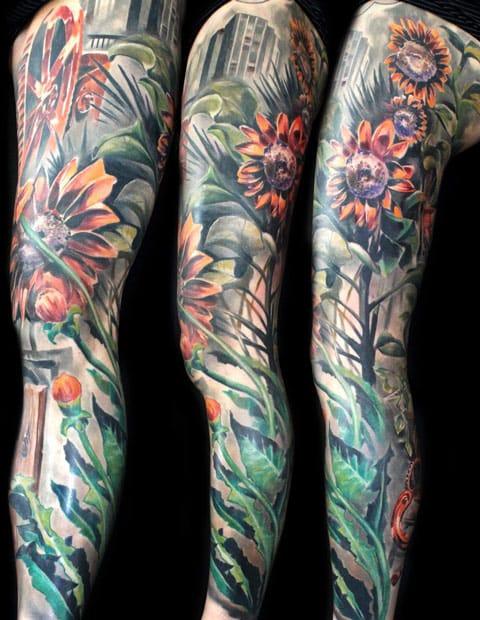12 Tatuagens Incríveis Para As Pernas
