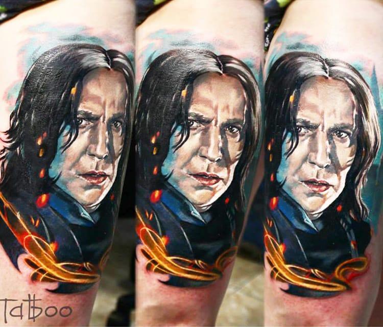 Tattoo by Valentina Ryabova