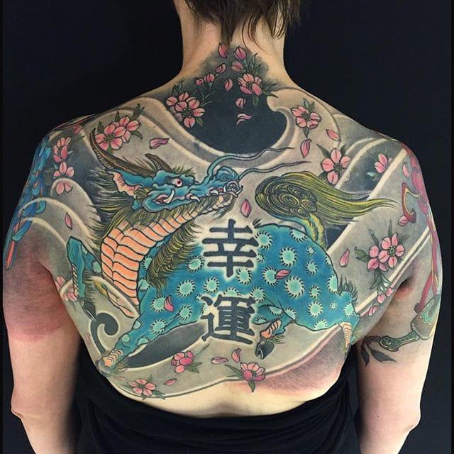 15 Powerful Kirin Tattoos