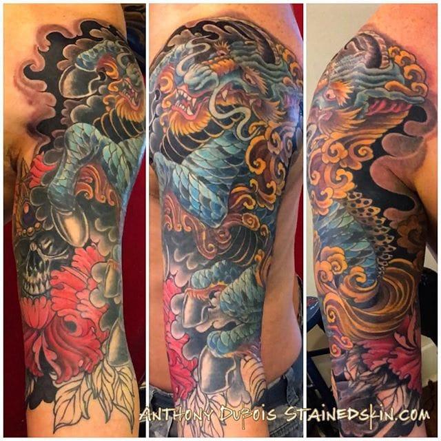 Kirin Tattoo by Anthony Dubois