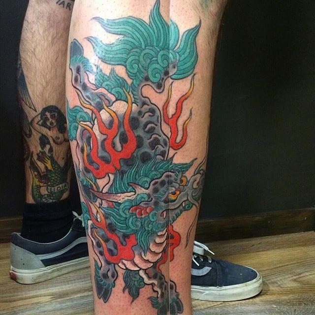 Kirin Tattoo by Dave Ramirez