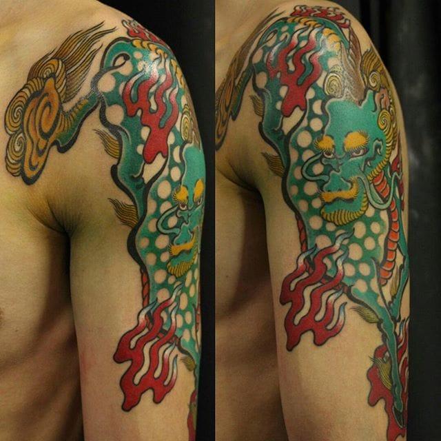 Kirin Tattoo by Horifuku