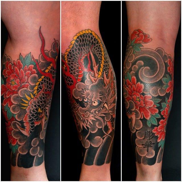 Kirin Tattoo by Horihana