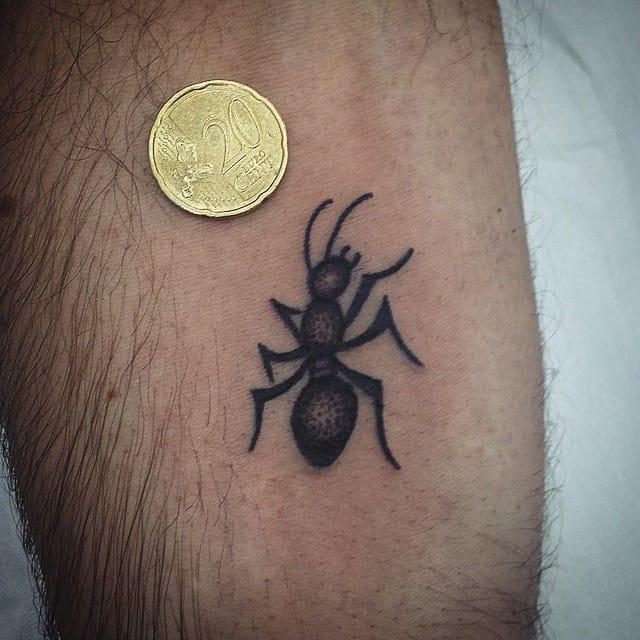Ant Tattoo by Alessandro Booka
