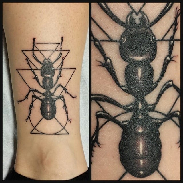 Ant Tattoo by Rian Renteria