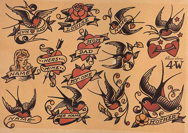"""Bold simplicity is the keynote to good design."" -Sailor Jerry"