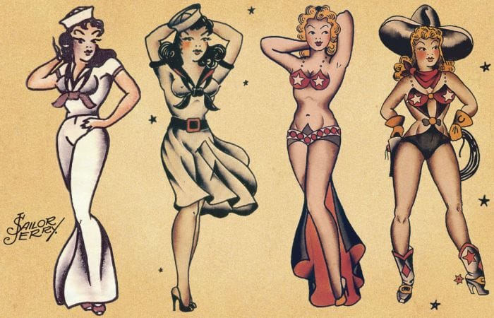 Pin up collection.