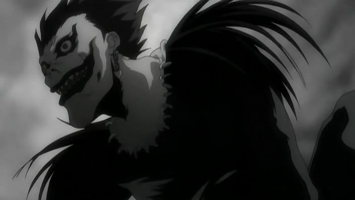 Death Note/NTV #deathnote #RyukTheShinigami #animé