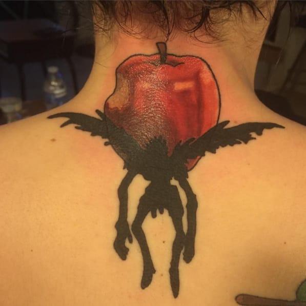 Tattoos Illustrate/Instagram #deathnote #RyukTheShinigami #animé