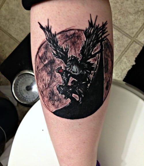 Death and Taxes Tattoo #deathnote #RyukTheShinigami #animé