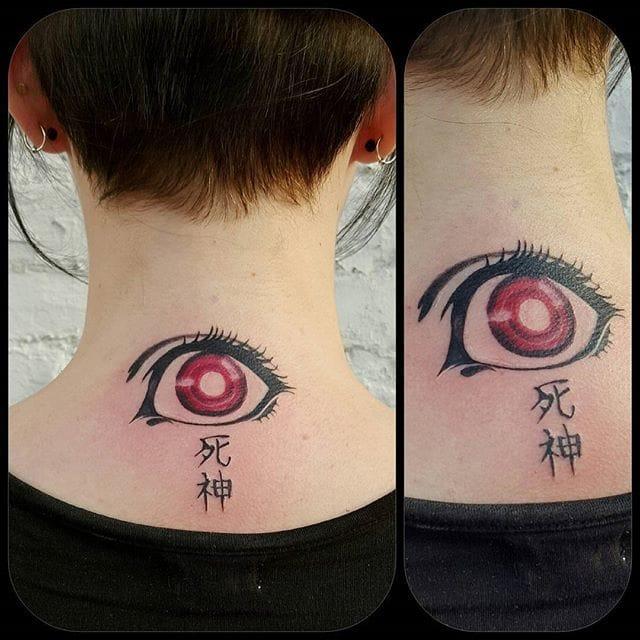 by Abbie Morphew #deathnote #Shinigamieye #eye #AbbieMorphew #animé