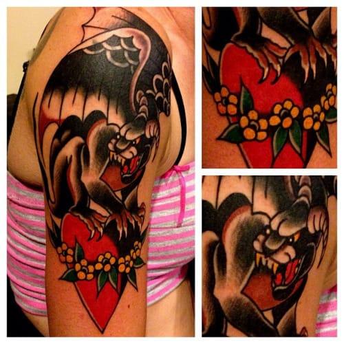 Gargoyle Tattoo by Austin Maples