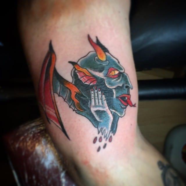 Gargoyle Tattoo by Eric James