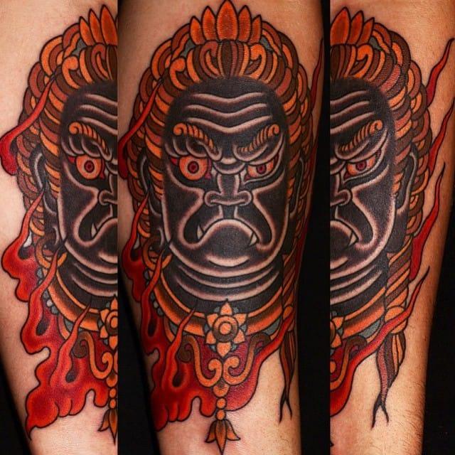 Fudo Tattoo by Ben Rorke