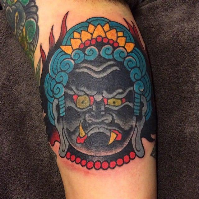 Fudo Tattoo by Dario Rivera