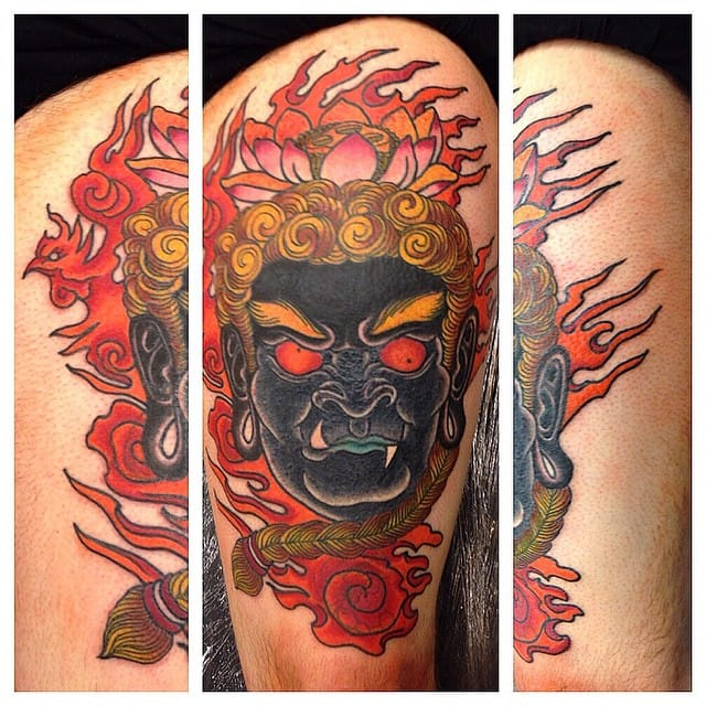 Fudo Tattoo by Forevermore Tattoo