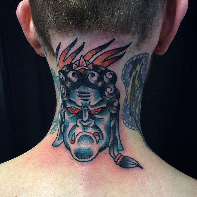 Fudo Tattoo by Jorge Ramirez